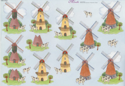 Mireille knipvel windmolens 10003 CD-8 (Locatie: 0518)