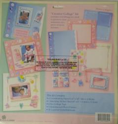 Creative Collage scrapbook kit