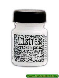 Distress crackle paint rock candy TDC 26686 (Locatie: 4RT12 )