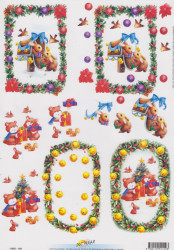 Doe Maar knipvel kerstmis 11055-159 (Locatie: 2548)