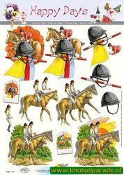 Doe Maar knipvel paardrijden 11053-137 (Locatie: 4720)