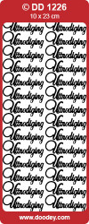 Doodey sticker koper uitnodiging DD1226 (Locatie: C024)