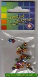 Eyelets metallic assortiment 25 stuks nr. 20413/99 (Locatie: 5RC1 )