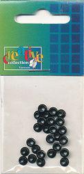 Eyelets zwart 25 stuks nr. 20407/17 (Locatie: 5RC1 )