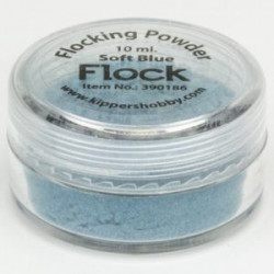 Flocking Powder Soft Blue 390186