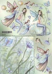 GeBe design knipvel Fantasy Fairy GL6026 (Locatie: 1406)