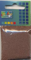 Glaskorrels 0,5 mm 25 gram Chocolat 21950 (Locatie: 4RT13 )