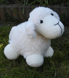 Haakpakket Funny Furry Sheep Soft ivoor 69043/001