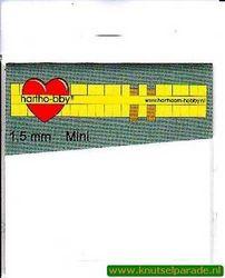 Hartho-bby foampads mini wit 1,5 mm 64019 (Locatie: K2)