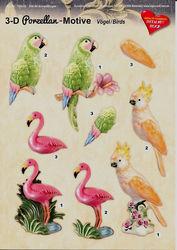 Hearty Crafts knipvel vogels 7520-05 (Locatie: 1430)
