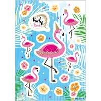 Herma stickers flamingo party time glitter 2 vel 15452 (Locatie: HE017)