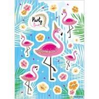 Herma stickers flamingo party time glitter 2 vel 15452 (Locatie: HE017)