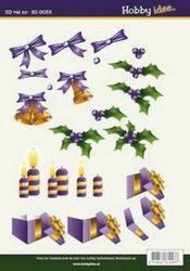 Hobby Idee knipvel kerst HI 0035 (Locatie: 929)