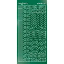 Hobbydots stickervel glanzend groen STDM122 (Locatie: N260)