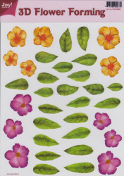 Joy Crafts 3D Flower forming transparant 6018/0006 (Locatie: 1560)