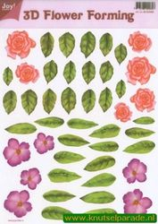 Joy Crafts 3D Flower forming transparant 6018 0008 (Locatie: 1558)