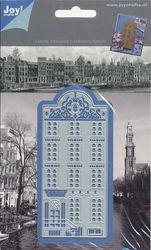 Joy! Crafts Snij- embos- en debosmal Grachtenhuis 1201/0086 (Locatie: H226)
