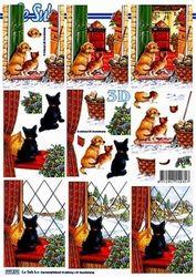 Le Suh knipvel Kerst honden 777571 (Locatie: 5561)