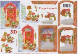 Le Suh knipvel kerst nr. 4169339 (Locatie: 2403)