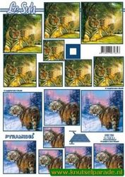 Le Suh knipvel pyramides dieren 630 156 (Locatie: 352)