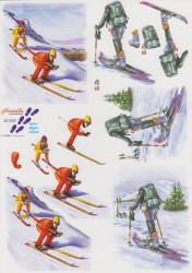 Le Suh knipvel wintersport 821509 (Locatie: 2704)