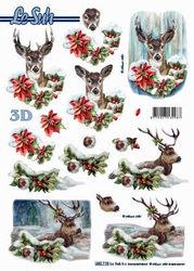 Le Suh stansvel kerst/hert 680115 (Locatie: 6756)