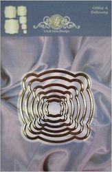 Lin & Lene stencil nest 6 stuks 1201/0031 (Locatie: J558 )