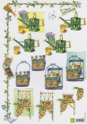 Marianne design knipvel bloemen IT509 (Locatie: 0508)