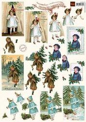 Marianne Design knipvel kerst VK 9516 (Locatie: 6036)