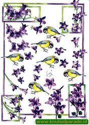 Marianne Design knipvel vogels IT437 (Locatie: 707)