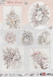 Marianne Design knipvel winter Dream EWK1252 (Locatie: 2935)