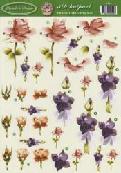 Marieke's Design knipvel bloemen 2592 (Locatie: 6203)