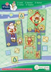 Marij Rahder kaartenpakket kerstmis 9.0086 (Locatie: 2924)
