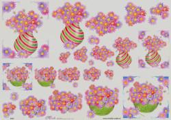 Mireille knipvel bloemen E663 (Locatie: 1414)