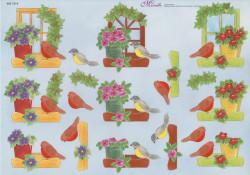 Mireille knipvel vogels 906 CD-8 (Locatie: 2627)