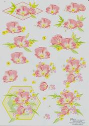 Nielsen cards knipvel bloemen E3 (Locatie: 1447)