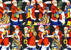 Poezieplaatje Kerstmannen MLP782 (Locatie: MP076)