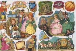 Poezieplaatjes Assepoester ML1430 (Locatie: MP008 )