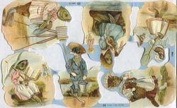 Poezieplaatjes Vissen ML1759 (Locatie: MP010 )
