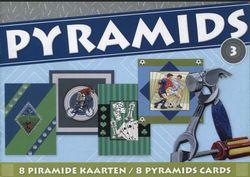 Pyramids 3 (8 kaarten) Thema Mannen PYRBOEKSL03 (Locatie: 1RA5 )