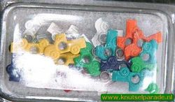Rayher eyelets auto's 1,5 cm / 25 stuks 7870249 (Locatie: K2)
