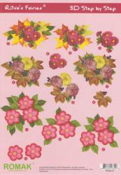 Romak knipvel bloemen P030019 (Locatie: 2875)