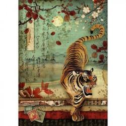 Stamperia Rice Paper tijger DFSA4393 (Locatie: 1131)