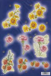 Stansvel bloemen line 720 (Locatie: 2753)