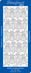 Starform huwelijk zilver nr. 1095 (Locatie: G017 )