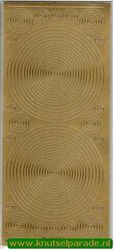 Starform sticker cirkels goud nr. 1144 (Locatie: G030 )