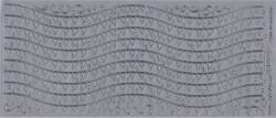 Starform sticker zilver randje 1255 (Locatie: A257)