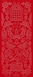 Starform Stickervel 953 rood (Locatie: BB129 )