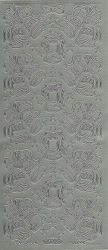 Sticker zilver kerst 860 (Locatie: U374 )