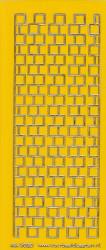 Stickervel donkergeel/goud nr. 3020 (Locatie: K146)